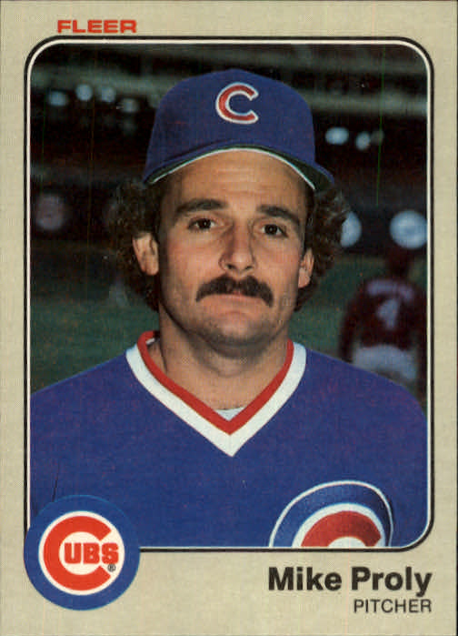 1983 Fleer #505 Mike Proly