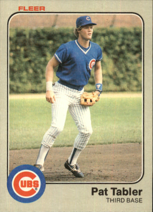1983 Fleer #509 Pat Tabler