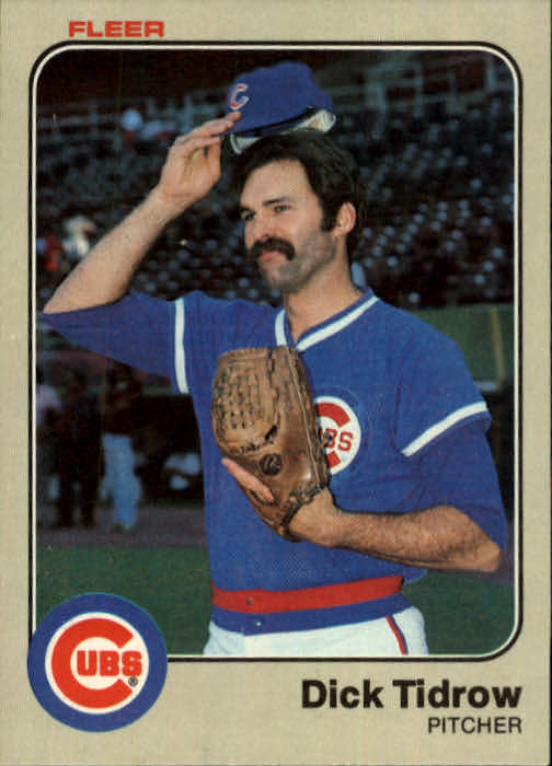 1983 Fleer #510 Dick Tidrow