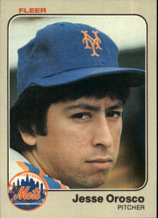 1983 Fleer #550 Jesse Orosco