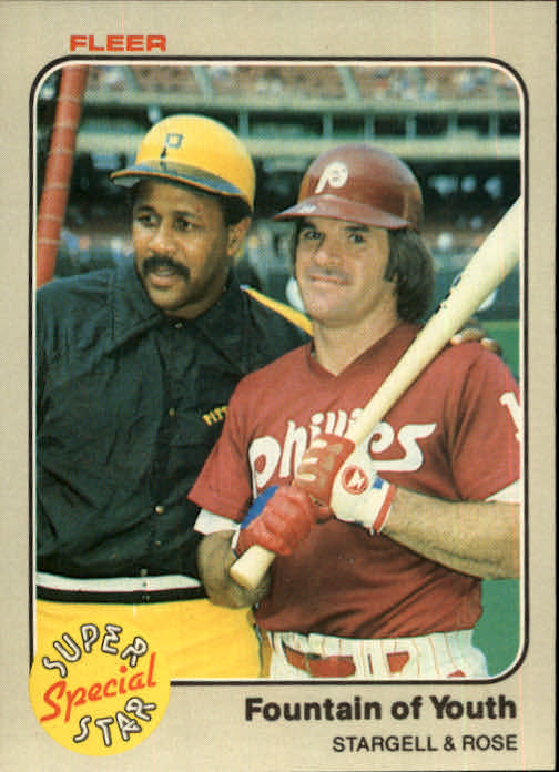1983 Fleer #634 P.Rose/W.Stargell
