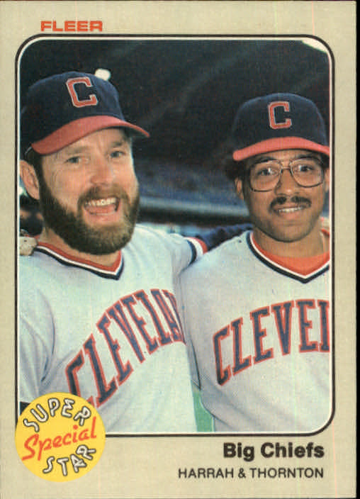 1983 Fleer #635 T.Harrah/A.Thornton