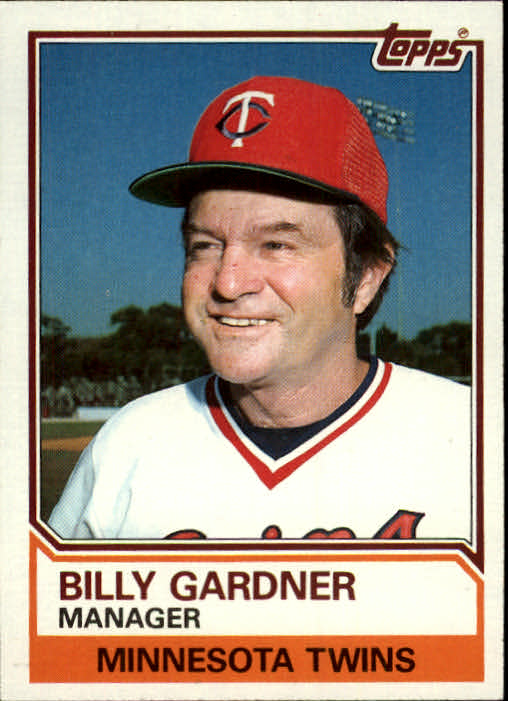 1983 Topps #11 Billy Gardner MG