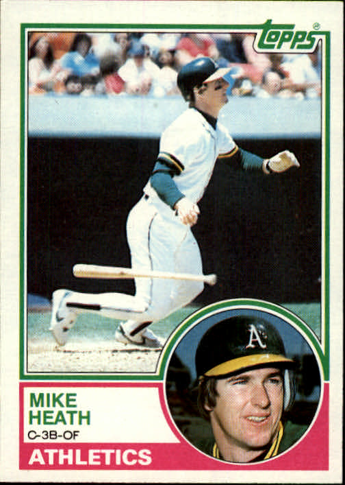 1983 Topps #23 Mike Heath
