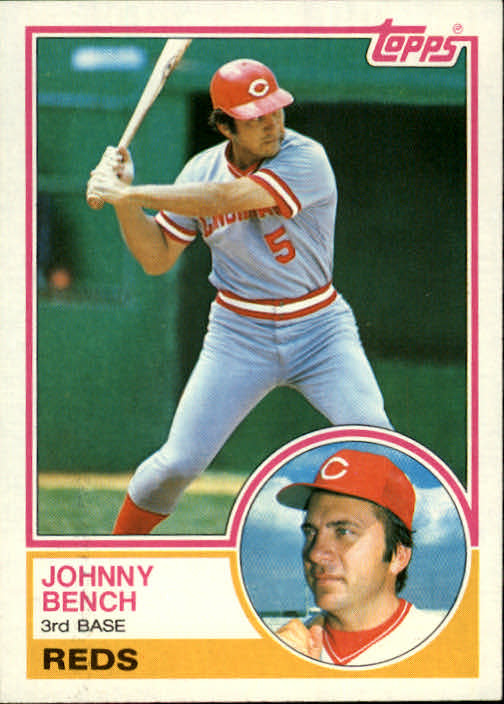 1983 Topps #60 Johnny Bench