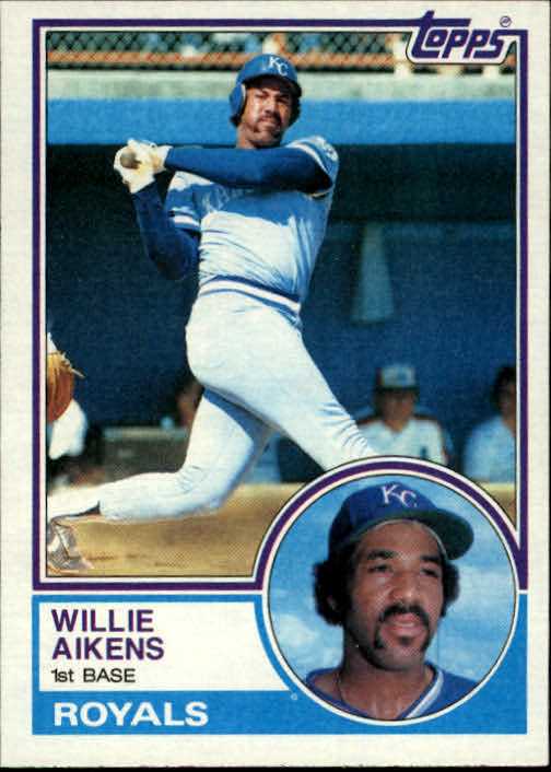 1983 Topps #136 Willie Aikens