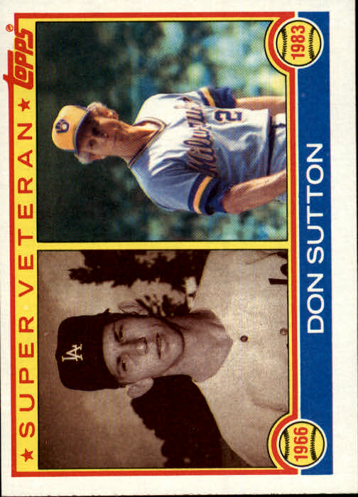 1983 Topps #146 Don Sutton SV