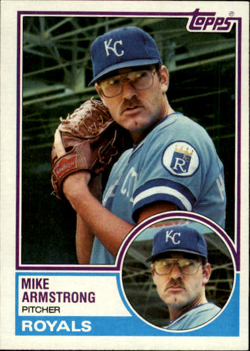1983 Topps #219 Mike Armstrong