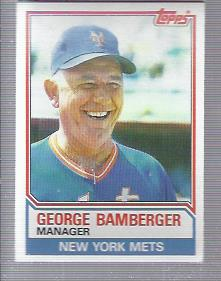 1983 Topps #246 George Bamberger MG
