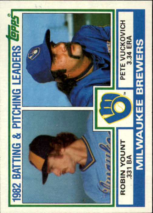 1983 Topps #321 Brewers TL/Robin Yount