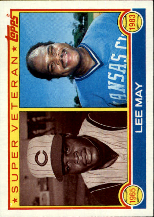 1983 Topps #378 Lee May SV