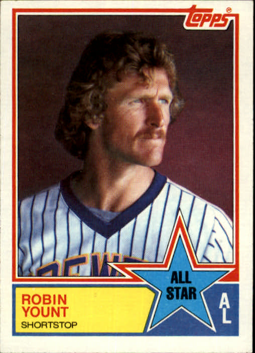 1983 Topps #389 Robin Yount AS