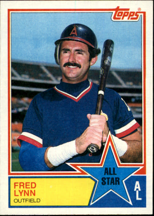 1983 Topps #392 Fred Lynn AS