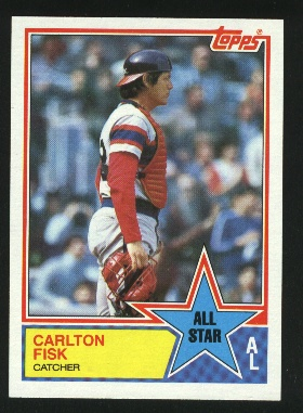 1983 Topps #393 Carlton Fisk AS