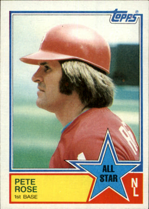 1983 Topps #397 Pete Rose AS
