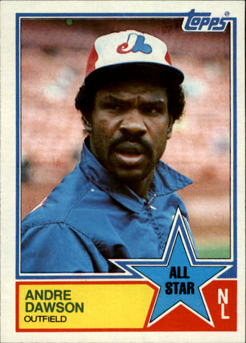 1983 Topps #402 Andre Dawson AS
