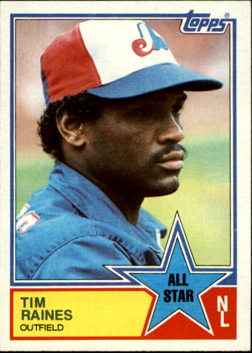 1983 Topps #403 Tim Raines AS