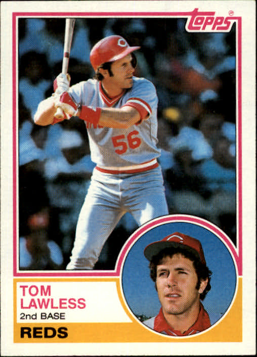 1983 Topps #423 Tom Lawless