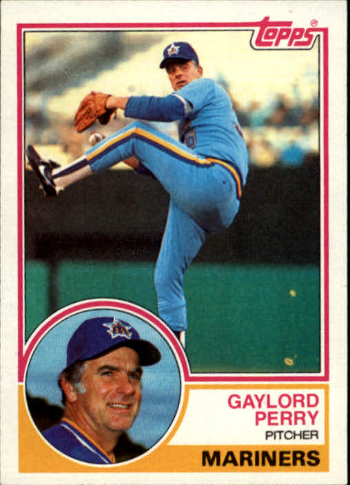 1983 Topps #463 Gaylord Perry