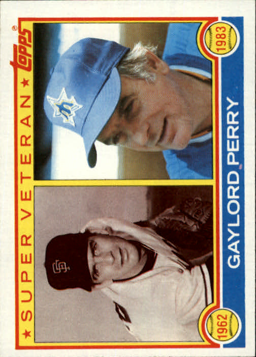 1983 Topps #464 Gaylord Perry SV