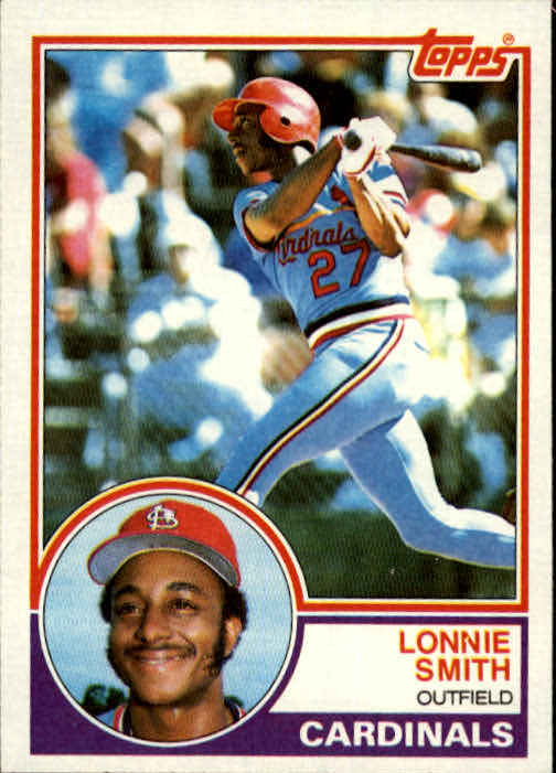 1983 Topps #465 Lonnie Smith