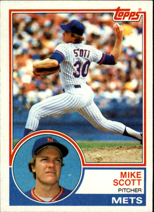 1983 Topps #679 Mike Scott