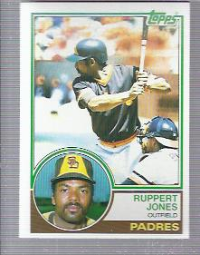 1983 Topps #695 Ruppert Jones
