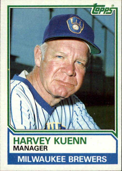 1983 Topps #726 Harvey Kuenn MG
