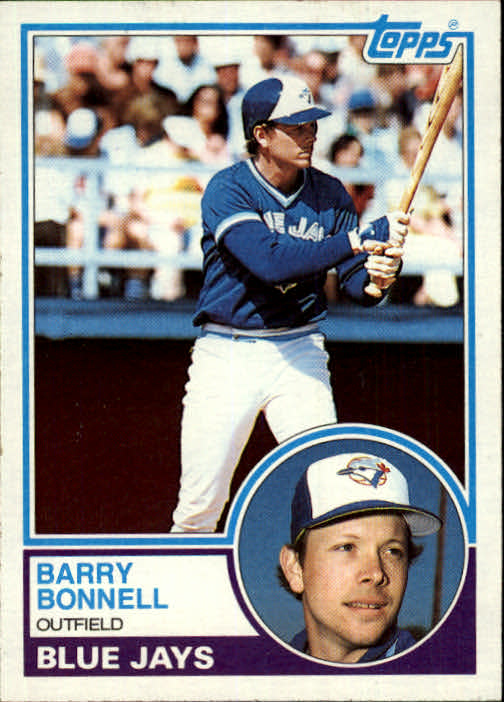 1983 Topps #766 Barry Bonnell