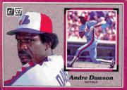 1983 Donruss Action All-Stars #9 Andre Dawson