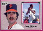 1983 Donruss Action All-Stars #10 Greg Minton