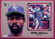 1983 Donruss Action All-Stars #13 Willie Wilson
