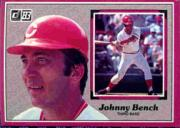 1983 Donruss Action All-Stars #14 Johnny Bench