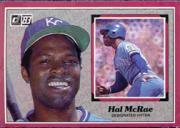 1983 Donruss Action All-Stars #16 Hal McRae