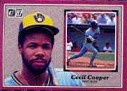 1983 Donruss Action All-Stars #19 Cecil Cooper