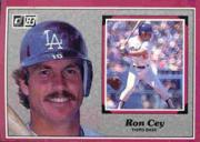 1983 Donruss Action All-Stars #21 Ron Cey