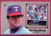 1983 Donruss Action All-Stars #26 Jim Sundberg