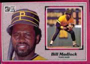 1983 Donruss Action All-Stars #30 Bill Madlock