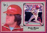 1983 Donruss Action All-Stars #31 Pete Rose