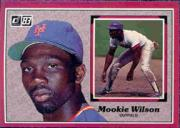 1983 Donruss Action All-Stars #32 Mookie Wilson