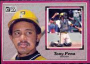 1983 Donruss Action All-Stars #35 Tony Pena