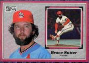 1983 Donruss Action All-Stars #41 Bruce Sutter