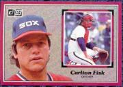 1983 Donruss Action All-Stars #43 Carlton Fisk