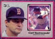 1983 Donruss Action All-Stars #44 Carl Yastrzemski