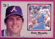 1983 Donruss Action All-Stars #45 Dale Murphy