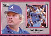 1983 Donruss Action All-Stars #46 Bob Horner