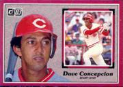 1983 Donruss Action All-Stars #47 Dave Concepcion