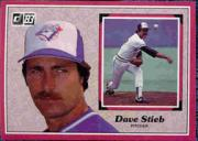 1983 Donruss Action All-Stars #48 Dave Stieb