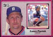 1983 Donruss Action All-Stars #50 Lance Parrish