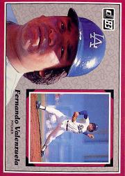 1983 Donruss Action All-Stars #53 Fernando Valenzuela